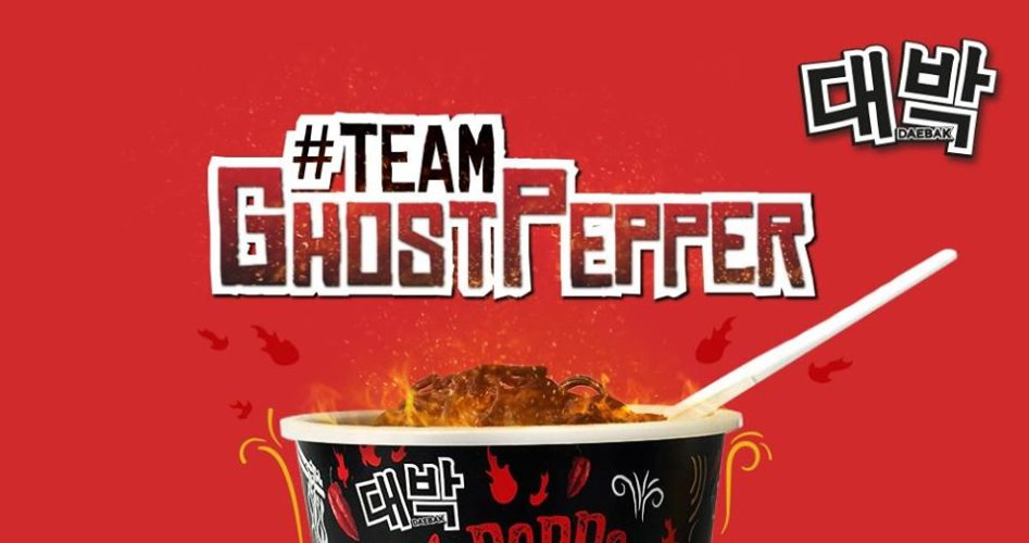 ATC Influencer Marketing | Singapore Influencers Dee Kosh & Monabong collaborates with Daebak Ghost Pepper Noodles