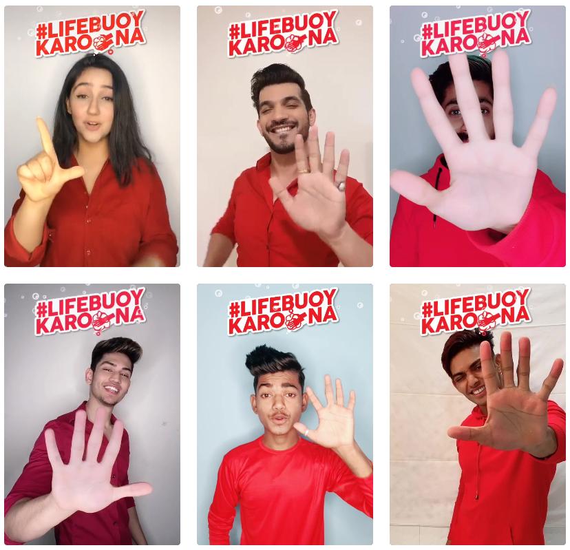 ATC Influencer Marketing   TikTok Influencers Join #LifebuoyKarona Hashtag Challenge