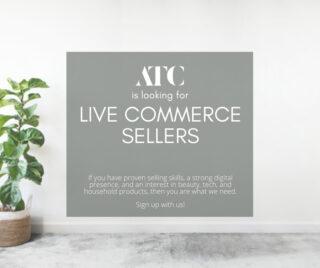 ATC Live Commerce Sellers