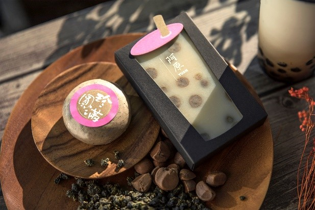 Yuan Pearl Milk Tea Handmade Soap